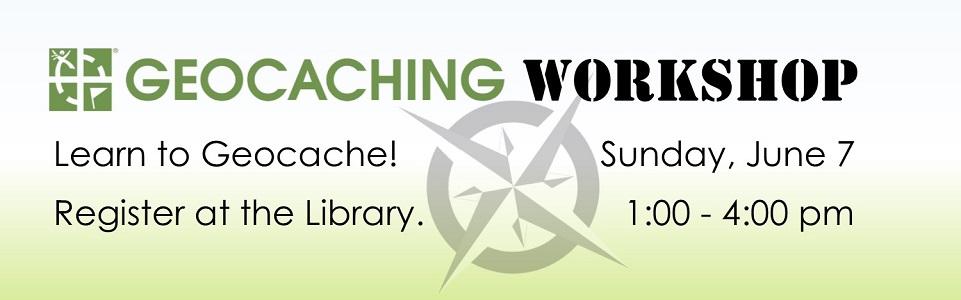 Geocache Workshop Slide