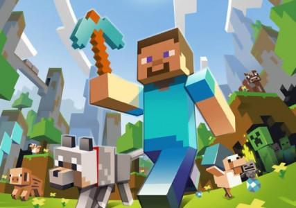 Minecraft man