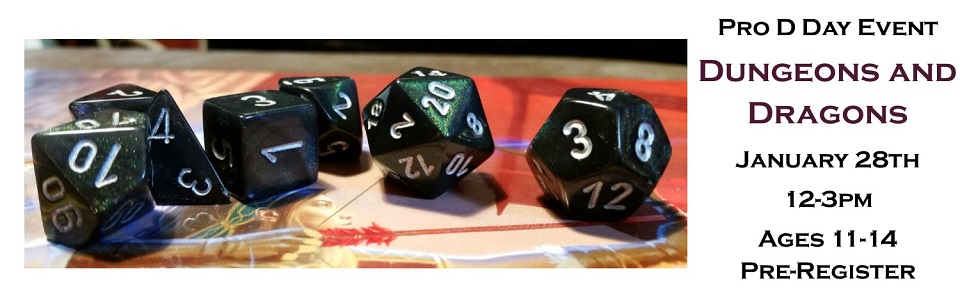 Dungeons and Dragons slider